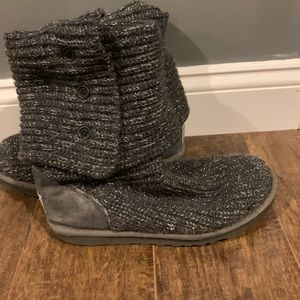 UGG Shoes - Ugg tall grey sweater boots